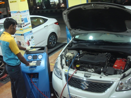 Ac Gas Recharge Manatec Easy Drive